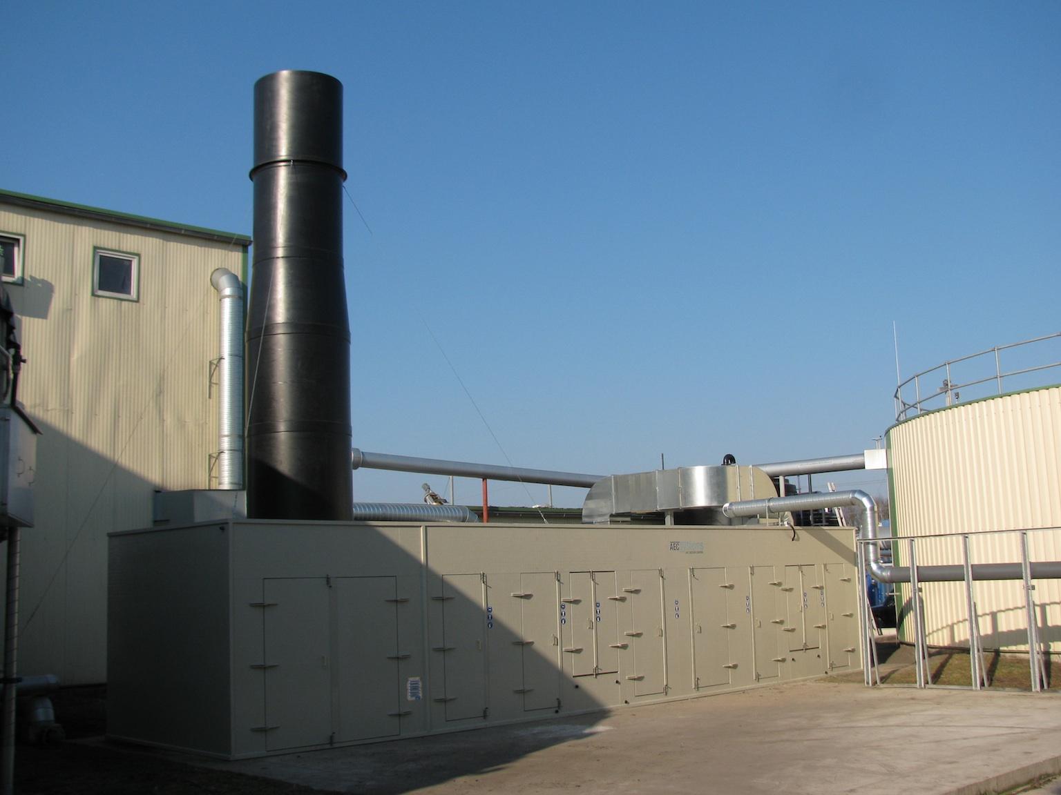 Luchtwasser met koker Senftenberg
