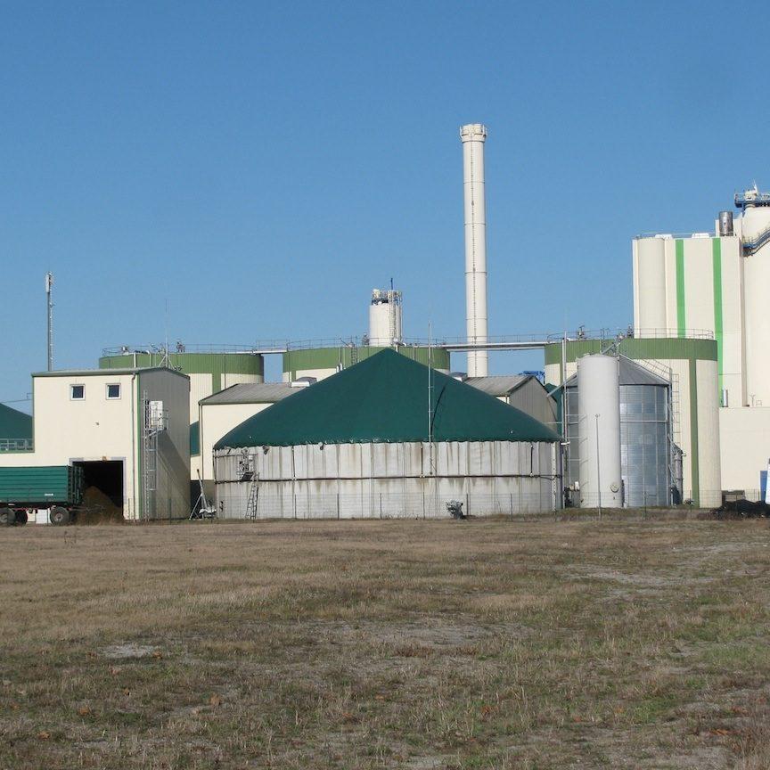 Biogasinstallatie